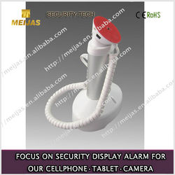 Alarm acrylic anti theft mobile holder