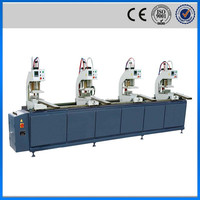 Four heads move cobinatively pvc window fabrication welding machine