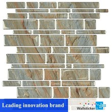 Fashionable useful epoxy material mosaic tile brick