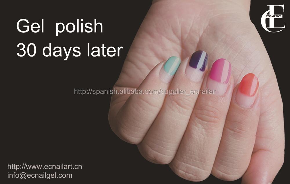 Gel uñas de fórmula biomédica grado, Sin olor, no daña la uña ...