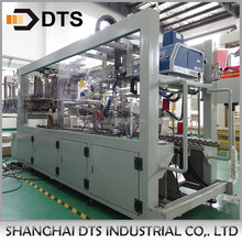 Full auto wrap around case packer for Mineral water production line