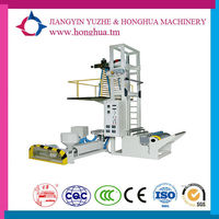 industrial tape recycle plastic bag blown film extrusion plant
