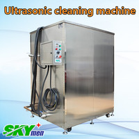 skymen large industrial stainless steel heat water tank ultrasonic saw blade cleaning machine