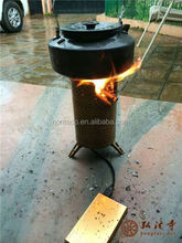 Nomado Best Coal stove for camping with fanned blower system