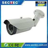 New products sectec POE HD 4MP H.265 outdoor IP66 waterproof ir camera ip