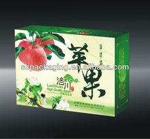 fancy and popular apple fruit packaging boxes