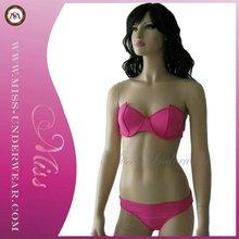 Hot Summer High Fashion Lady Pink Bikini