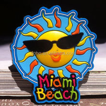 Custom souvenir soft pvc magnet fridge and rubber fridge magnet calendar sticker, custom printed refrigerator magnet ---- DH1239