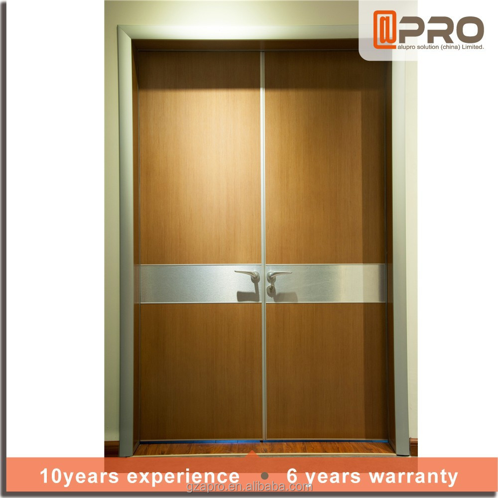 New door designs double swing hospital doors interior door made in china buy interior door - Swinging double doors interior ...