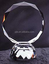 elegant crystal art trophy crafts,crystal award trophy