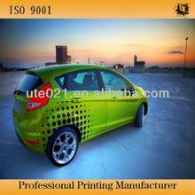 printed vinyl wrap cars decoration