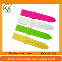 Innovative design and competitive price rubber strap watch band