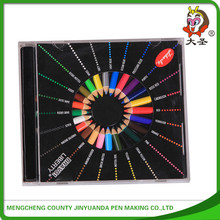 """2015 the latest 3.5 """"short many school children's painting color pencil Stationery Gift Set"""