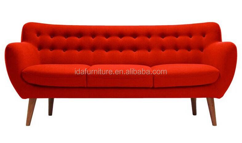 Retro wooden sofa modern style comfortable sofa buy for Retro 80s furniture