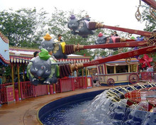 Happy Flying Elephant Swing Rides ! Park Amusement Facility Rides Manufacturer With Ce Approved
