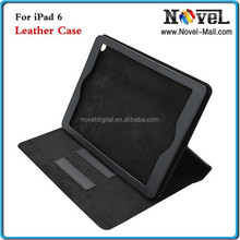 2015 New 360 Degrees sublimation print Rotate Leather Tablet Case For iPad 6