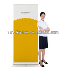 Portable roll up stand in aluminum