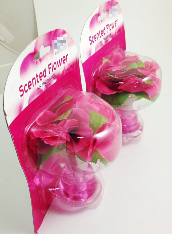 35ml Aroma flower car air freshener