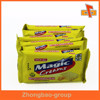 Custom plastic snacks packaging bag for biscuit soda cracker made in guangzhou