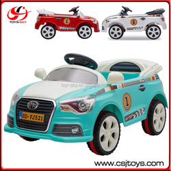 3 Colors Cheap China Emulational Cars Single Motor Remote Control Car Ride On Battery Car For Kids