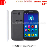 "Original Lenovo A399 Wholesale China Brand Phone WCDMA Unlocked 3G Smartphone 5.0"" Andoid 4.4Touch Phone"