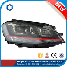 High Quality Auto Hid Xenon Bulb Headlights for VW Golf 7