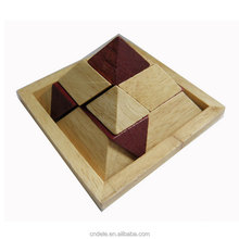 wooden toy pyramid wooden puzzle educational wooden toy