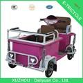 Quadriciclo elétrico com assento de bebê triciclo elétrico adultos coberto de passageiros elétrica triciclo