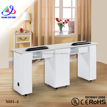 salon beauty professional nail table/nail technician tables/nail table with exhaust fan