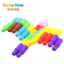 Children Plastic Classic New Bullet Particles Building Blocks Toys DIY Educational Toy