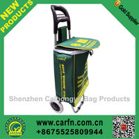 Hot sale cheap shopping trolley bag in stock,stock shopping trolley bag
