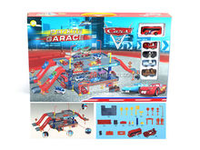 Alloy Bus and Cars Parking Lot Toys for Children STP-247285