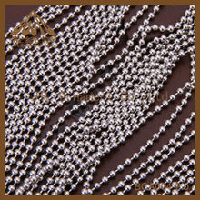 Fashion High Quality 2.0mm stainless steel ball chain
