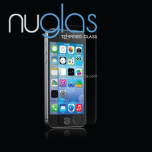 Tempered glass for iphone screen protector 9H hardness 99% transparency anti-finger print and smugdes