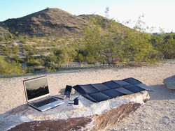 PORTABLE ROLLABLE WATERPROOF SOLAR CHARGER For Outdoor Adventure