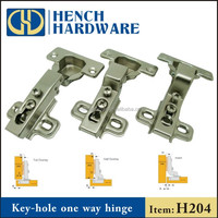 Kitchen furniture accessories key hole hinge for door and cabinet