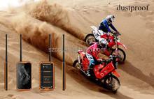 5.0 inch Big Screen Mobile Phone GPS/WIFI/Bluetooth Quad Core IP68 Rugged Smart Phone