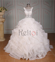 2016 suzhou organza wedding dress import from china