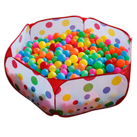 2015 Hot The Cow Children Tent Game Ball Pits Pool Foldable Children Ball Pool Outdoor Fun Sports educational toy