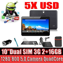 10.1 inch android pc tablet 10.1'' cheap phone quad core MTK6572 built-in 3g tablet mobile phone android 4.4 tablet gps
