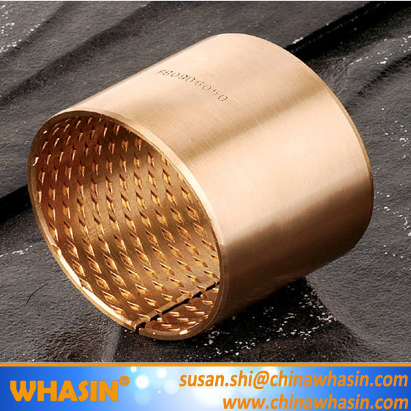 CuSn6.5P CuSn8P CuPb10Sn10 Wrapped Bronze Bearing Sleeve With Diamond Oil Pocket FB Bronze Bushing WB700 Bronze Bush.jpg
