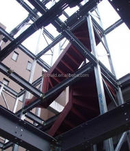 Top Build 12 floors low cost light steel structure prefab/prefabricated apartment building