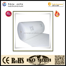 Synthetic fiber ceiling air filter fabric/air filter fabric roll for spray booth