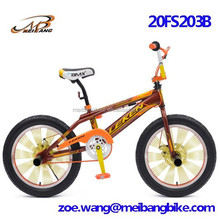 2015 year 20 size steel bmx bike with 20*3.0 tire and 140 spokes