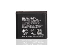 650mAh 3.7V rechargeable BL-5X battery For Nokia BL 5X 8800 replacement mobile phone with long time working