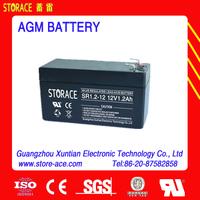 Emergency light Sealed lead-acid battery 12v 1.2ah (SR1.2-12)