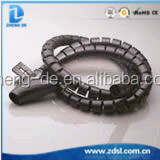 PE Material White And Black Spiral Wrapping Band From China