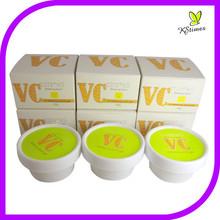 Natural Vitamin C skin brightening anti-freckly spots removal whitening cream aloe vera