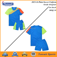 Custom your own jersey soccer 100% polyester fabric soccer uniform