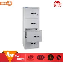Popular sale office furniture 4 drawer vertical metal file cabinet